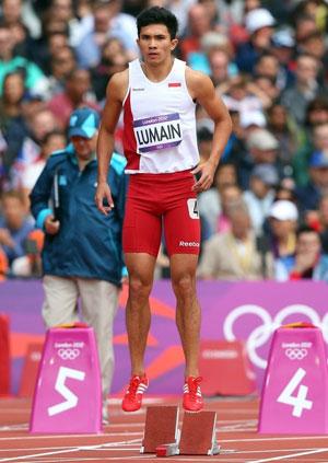 Sprinter Olimpiade Dicoret