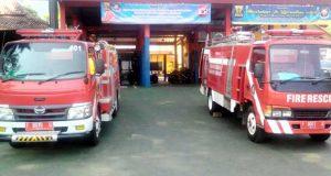 Kerahkan 421 Personel, Damkar Siap Siaga Amankan Arus Mudik Kota Sukabumi