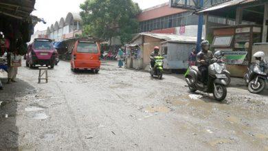 Jalan Tipar Gede 390x220 - Tahun Ini, Jalan Pasar Tipar Gede Diperbaiki