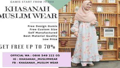 Khazanah Muslim Wear 390x220 - KHASANAH MUSLIM WEAR