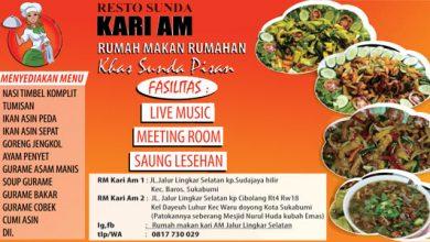 RESTO SUNDA KARI AM 390x220 - Resto Sunda Kari Am, Rumah Makan Khas Sunda Pisan