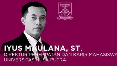 Iyus Maulana ST Universitas Nusa Putra 390x220 - Membangun Karakter Mahasiswa UNsP dengan Global Mindset