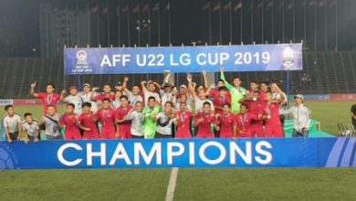 TIMNAS 390x220 - Setelah Menjuarai Piala AFF, Timnas U-22 Langsung Jalani TC