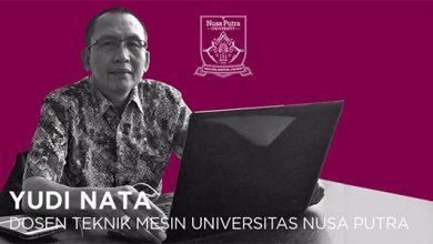 Yudi Nata Dosen UNP 390x220 - Teknik Mesin Universitas Nusa Putra Fokus Menyiapkan SDM Andal