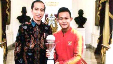 sani rizki 390x220 - Sani Rizki, Pencetak Gol Kemenangan Timnas Mudik ke Sukabumi