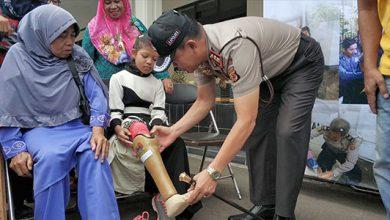 Kapolres Sukabumi Kota AKBP Susatyo Purnomo 390x220 - Polres Sukabumi Kota Peduli Disabiltas