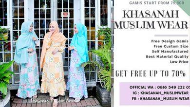 Khasanah Muslim Wear Sukabumi 390x220 - Melirik Bisnis dari Hidayah yang Dijemput