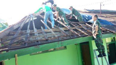 Koramil 0705 Kecamatan Sukabumi renov 390x220 - Gelar Bhakti Sosial, Makoramil 0705 Direhab
