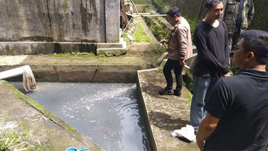 Pencemaran Sungai PT Daehan Global Sukabumi 390x220 - Polres Sukabumi Lidik Pencemar Sungai