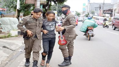 Pengamen Kota Sukabumi 390x220 - Tiga Pengamen Bandel Diamankan