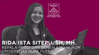 Rida Ista Sitepu UNS 390x220 - Mengenal LKBH dan A-Z Prodi Ilmu Hukum Universitas Nusa Putra Sukabumi