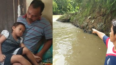 terseret arus sungai Cicatih 390x220 - Bocah 4 Tahun Terseret Sungai Cimandiri