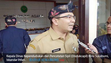 Kepala Dinas Kependudukan dan Pencatatan Sipil Disdukcapil Kota Sukabumi Iskandar Ihfan 390x220 - 47 Ribu Pasutri Belum Tercatat pada KK Terbaru
