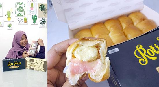 Roti Mochi Sukabumi - Roti Mochi Imut Berjuta Rasa