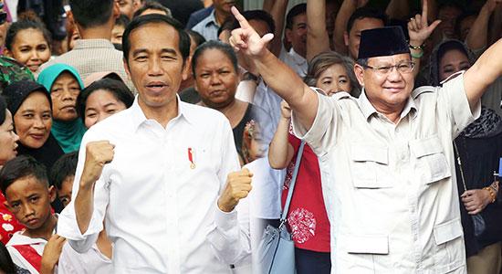 Jokowi Prabowo - Jokowi Deklarasi, Prabowo Maju Ke MK