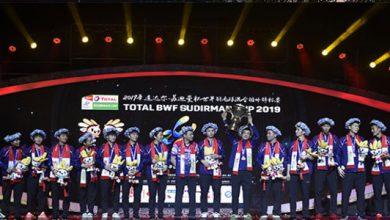 Piala Sudirman 2019 390x220 - Tiongkok Juara Sudirman Cup 2019, Ada Peran Anthony Ginting