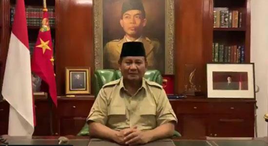 Prabowo Subianto - Prabowo Meminta Para Pengunjuk Rasa Menyudahi Aksi Mereka