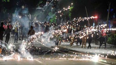 aksi 22 mei rusuh 390x220 - Polisi: 3 Perusuh di Petamburan Berasal dari Sukabumi