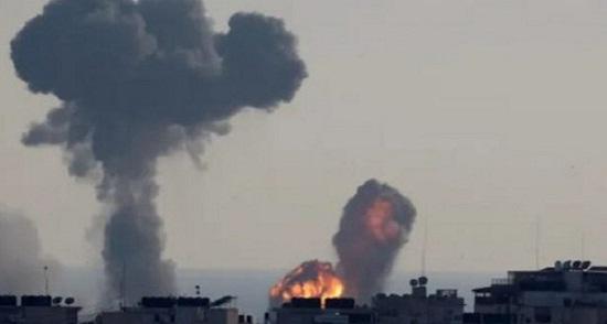 serangan udara palestina - Umat Muslim Palestina Sambut Ramadan dengan Serangan Rudal Israel