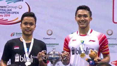 Badminton Indonesia 390x220 - Jojo Juara Australian Open 2019, Tumbangkan Ginting