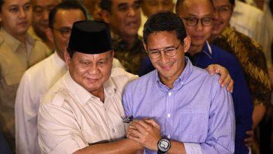 Prabowo Sandi 390x220 - Prabowo-Sandi Hormati Putusan MK, Berikut Pidato lengkapnya