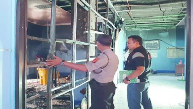 A HL JPG 17 390x220 - Diduga Korsleting Listrik, Kantor Dishub Kebakaran