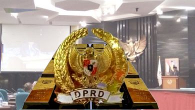 PIN Emas DPRD 390x220 - Kontroversi, Pin Emas DPRD Capai Rp 1,3 milyar