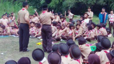 hut Pramuka Kec Sukabumi 1 390x220 - Camat Sukabumi Pimpin Upacara HUT Pramuka ke-58