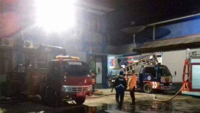 kebakaran dishub 390x220 - Korsleting, Kantor Dishub Kota Sukabumi Terbakar
