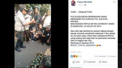 polwan papua ajak minum miras 390x220 - Oknum Polwan di Bandung Tawari Miras ke Mahasiswa Papua