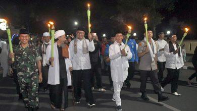 A JPG 390x220 - Ribuan Obor Sambut Tahun Baru Islam