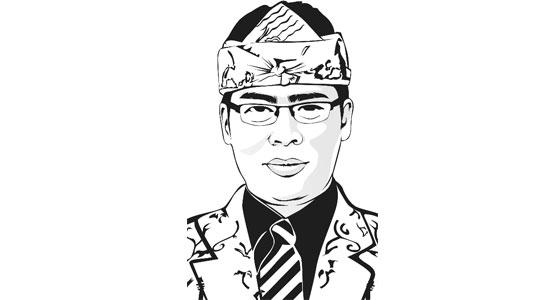 Dudung Nurullah Koswara - Jokowi dan Nyi Roro Kidul