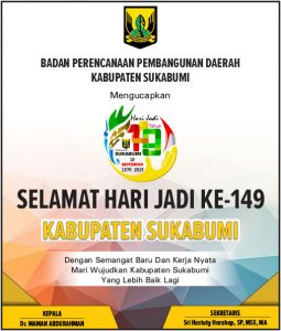 HUT Kab Sukabumi BAPPEDA 255x300 - HUT Kabupaten Sukabumi ke 149, Meluruskan Sejarah Hari Jadi Kabupaten Sukabumi