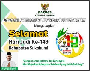 HUT Kab Sukabumi BAZNAS KAB 300x237 - HUT Kabupaten Sukabumi ke 149, Meluruskan Sejarah Hari Jadi Kabupaten Sukabumi