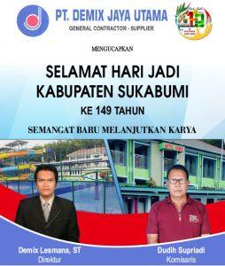 HUT Kab Sukabumi DERI DEMIX  254x300 - HUT Kabupaten Sukabumi ke 149, Meluruskan Sejarah Hari Jadi Kabupaten Sukabumi