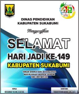 HUT Kab Sukabumi DINAS PENDIDIKAN 254x300 - HUT Kabupaten Sukabumi ke 149, Meluruskan Sejarah Hari Jadi Kabupaten Sukabumi