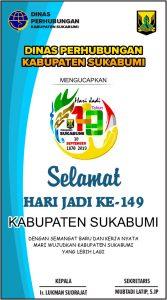 HUT Kab Sukabumi DISHUB 167x300 - HUT Kabupaten Sukabumi ke 149, Meluruskan Sejarah Hari Jadi Kabupaten Sukabumi
