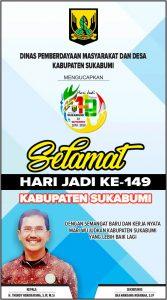 HUT Kab Sukabumi DPMD 167x300 - HUT Kabupaten Sukabumi ke 149, Meluruskan Sejarah Hari Jadi Kabupaten Sukabumi