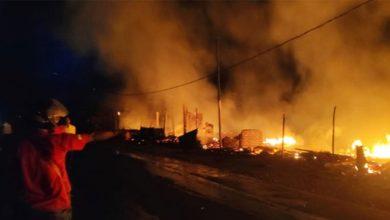Kios Peuyeum Terbakar 390x220 - Kios Peuyeum Membara, Akibat Korsleting Listrik