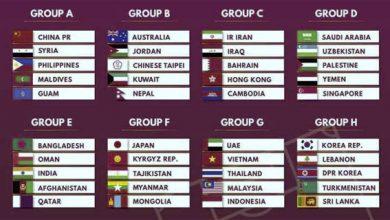Kualifikasi Piala Dunia 2022 390x220 - Klasemen Grup G Kualifikasi Piala Dunia 2022