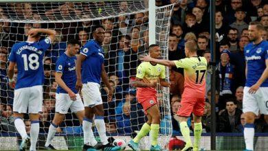 Man Cyti 390x220 - Man City Pecundangi Everton