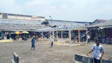 Pasar Cibadak1 390x220 - Pertokoan di Terminal Cibadak Mulai Dibangun