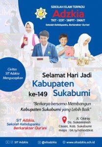 Sekolah Islam Terpadu Adzkia 208x300 - HUT Kabupaten Sukabumi ke 149, Meluruskan Sejarah Hari Jadi Kabupaten Sukabumi