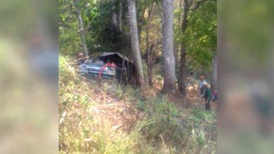 kecelakaan pasir angin 390x220 - Oleng, Toyota Hijau Nyungsep ke Jurang di Jampangtengah