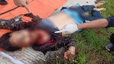 mayat di bocimi 390x220 - Luka di Leher, Polisi Duga Mayat di Tol Bocimi Korban Pembunuhan