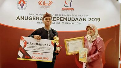 Anugrah Kepemudaan 2019 390x220 - Krispy Yammy Babeh Sukabumi Juara WMP Nasional