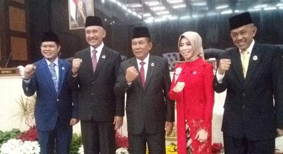 DPRD JABAR - Pimpinan DPRD Jabar Periode 2019-2024