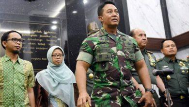Jenderal TNI Andika Perkasa 390x220 - 7 Anggota TNI AD Kena Hukuman, Gegara Istrinya Komentar Soal Wiranto