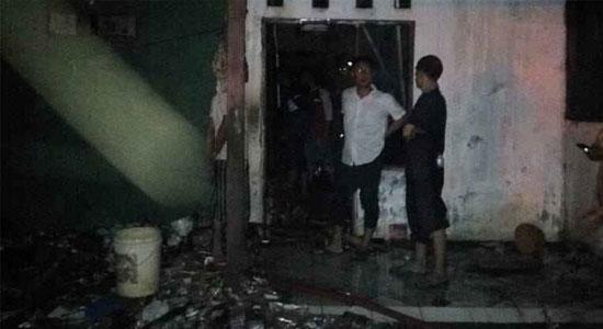 KEbakaran Bogor - Rumah di Gunung Putri Terbakar, Ma'sum Tewas