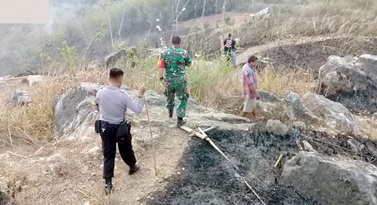Kebakaran Gunungguruh - Lagi, Karhutla Terjadi di Gunungguruh